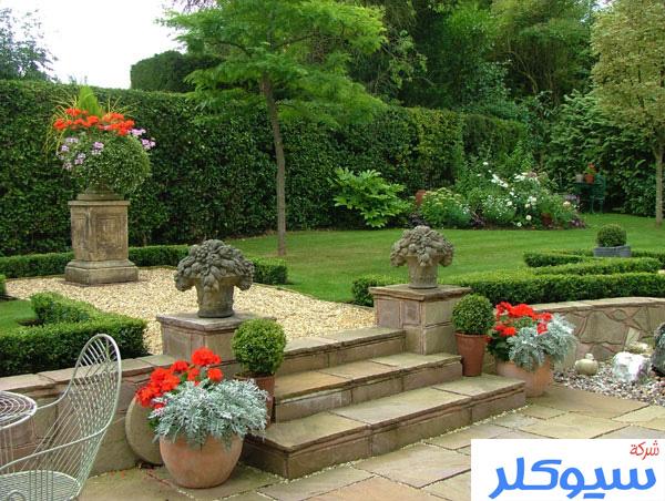 شركة تصميم حدائق بالطائف