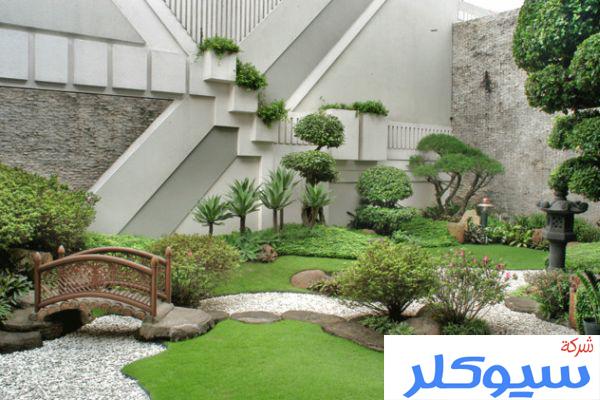 شركة تصميم حدائق بمكة