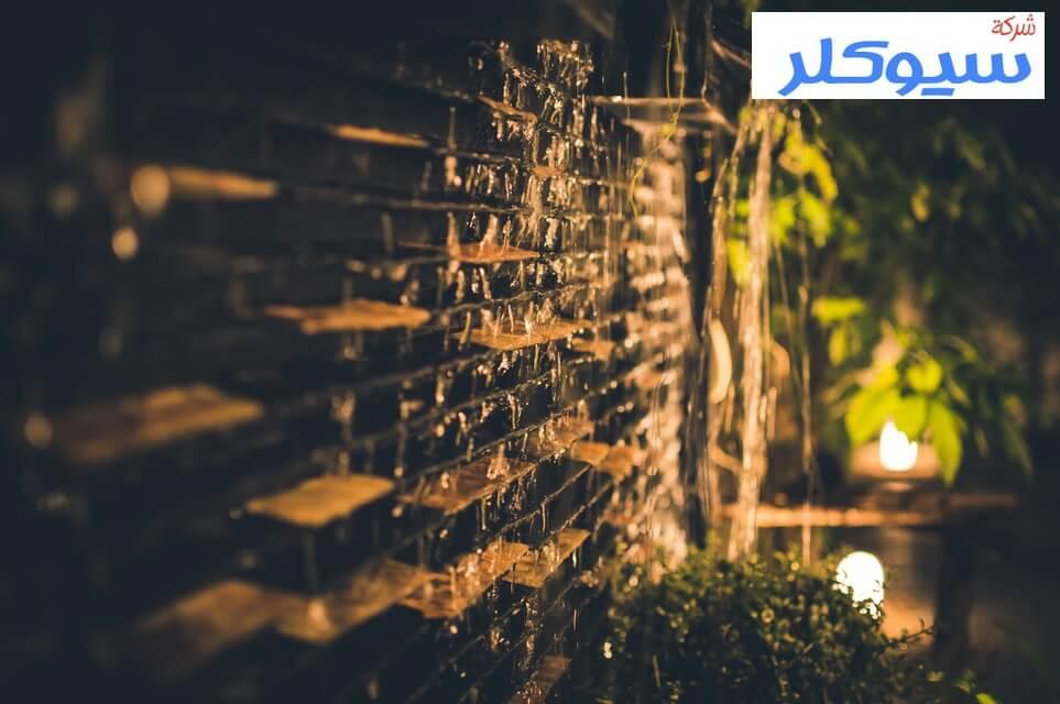 تصميم شلالات جداريه بخميس مشيط