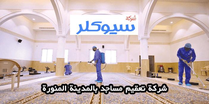 شركة تعقيم مساجد بالمدينة المنورة
